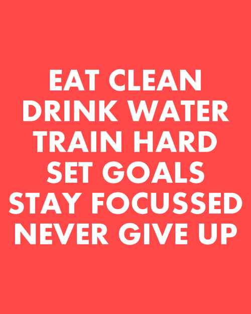 Workout motivation girl