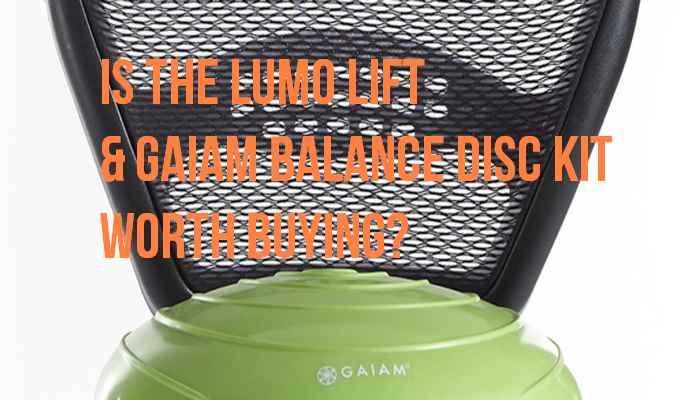 Lumo Lift & Gaiam Balance Disc Kit Review