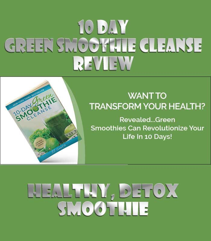 10 day green smoothie cleanse reviews
