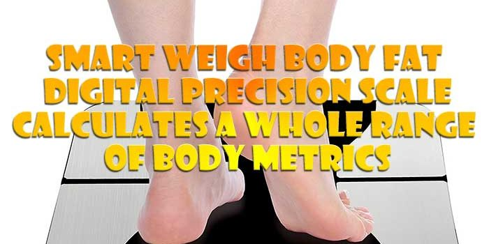 The Smart Weigh Body Fat Scale uses advanced BIA technology to measure not only your weight but your BMI