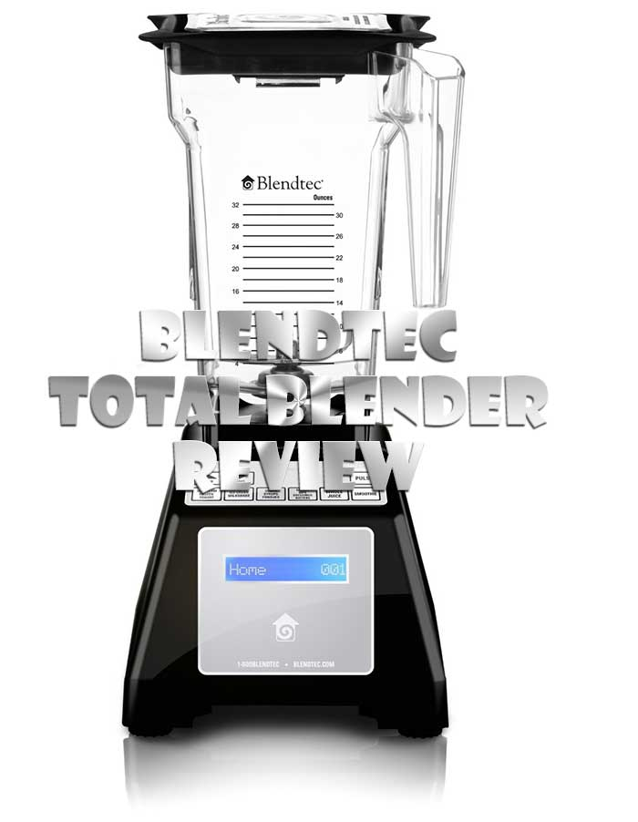 blendtec total blender fourside jar black