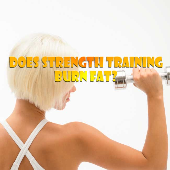 does strength training burn calories