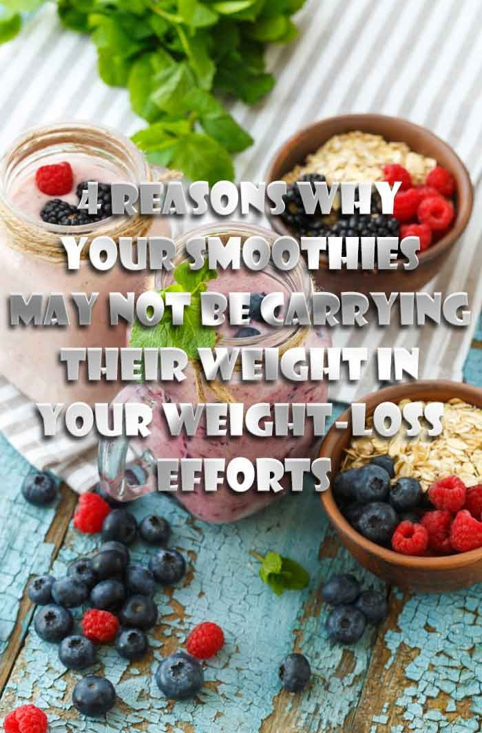 are smoothies healthy for weight loss