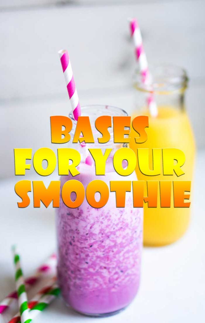 Many different elements go into a smoothie
