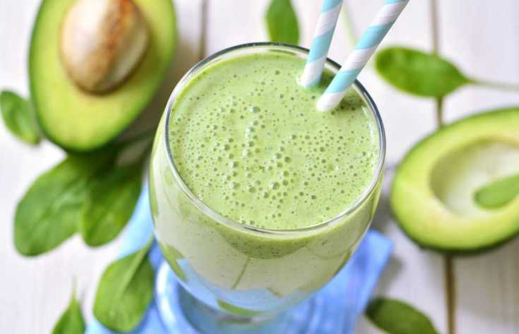 Avocado gives delicious creaminess and plenty of vitamins and minerals
