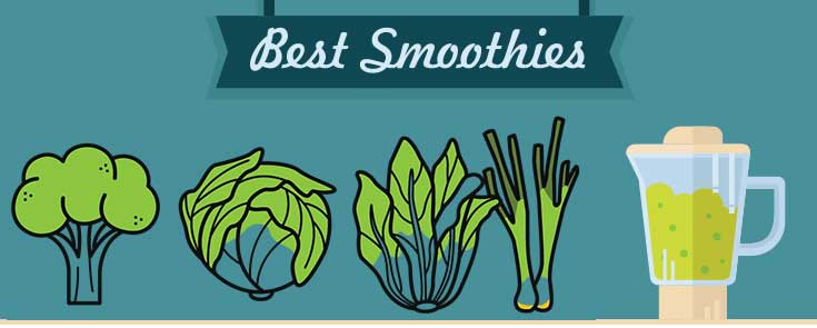 the finest greens which can be used to make fantastic smoothies