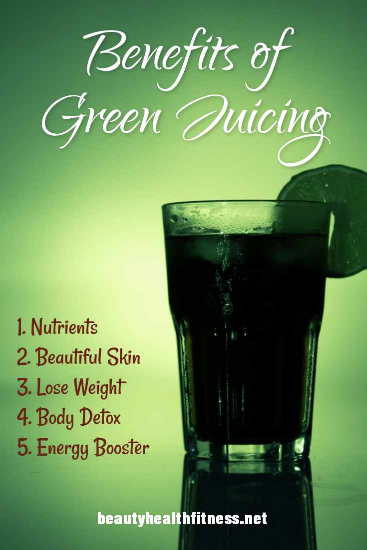 Why green juice is good for you