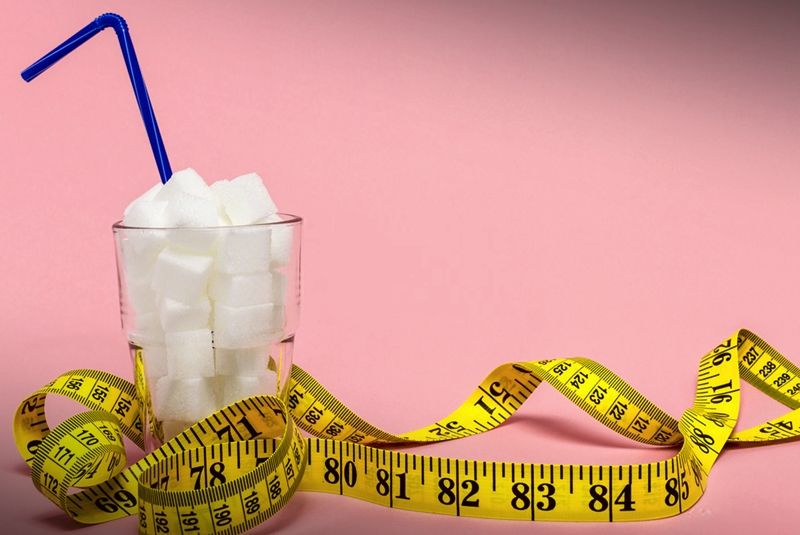 Belly fat over 40. When you're trying to lose weight, sugar is your worst enemy.