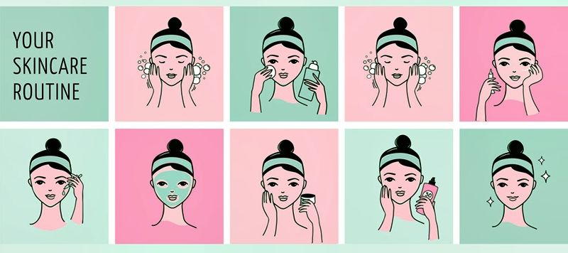 Beauty products online. Your skin care routine. #skincare #skincareroutine #skincaretips