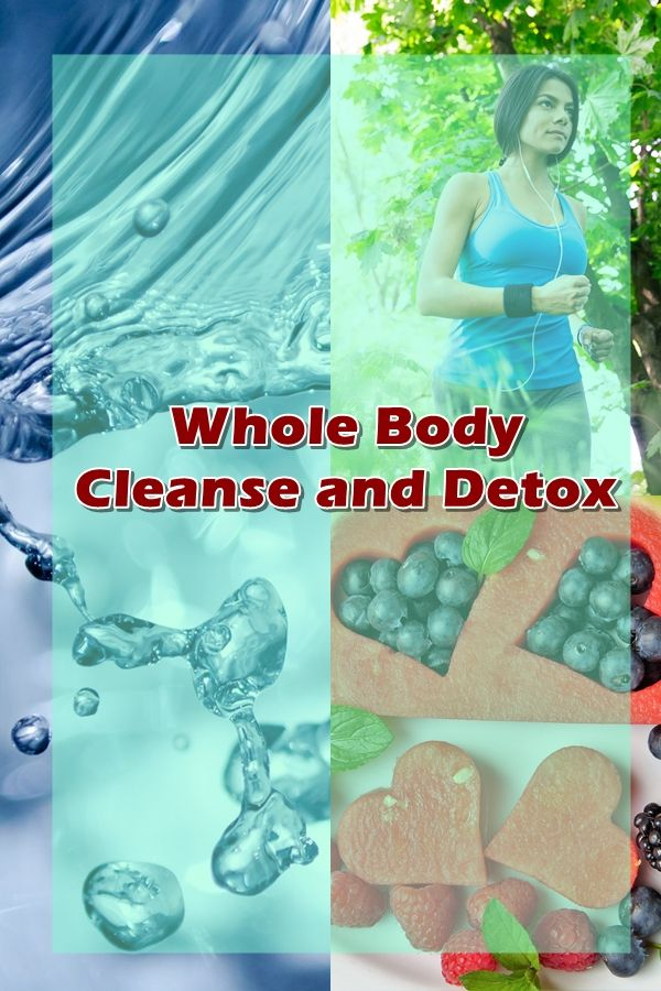 What is the holistic health approach to detox?