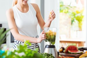 The personal blender is the newest style of mixer.