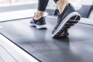 A treadmill can add consistency to you walking workout.